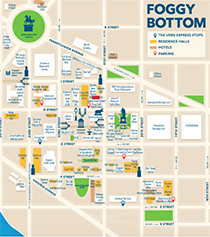 Foggy Bottom Map